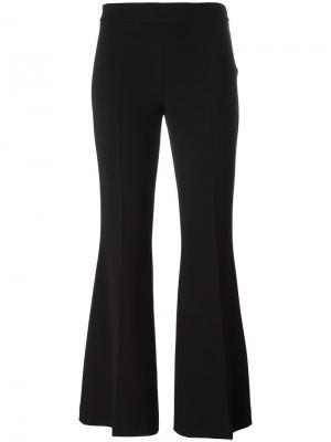 Расклешенные укороченные брюки Boutique Moschino. Цвет: чёрный