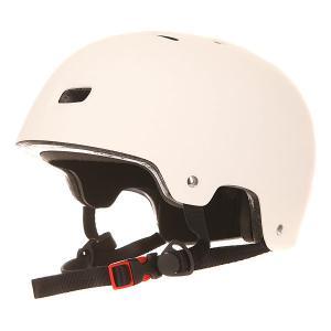 Шлем для скейтборда  Deluxe Helmet Matte White Bullet. Цвет: белый