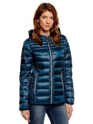 Куртка TOM TAILOR. Цвет: синий, зеленый