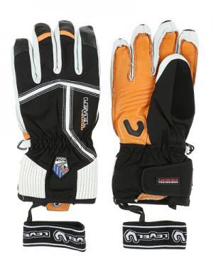 Лыжные перчатки level. Цвет: оранжевый