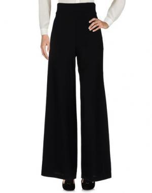 Повседневные брюки SYBILLA. Цвет: черный
