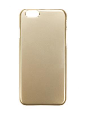 Чехол крышка задняя для iphone 6 IQ Format. Цвет: золотистый