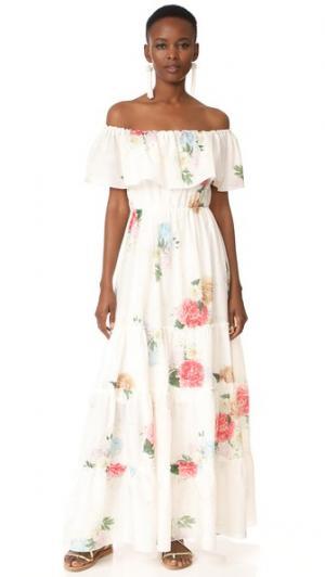 Летнее платье Bloom Gypsy Athena Procopiou. Цвет: белый/микс