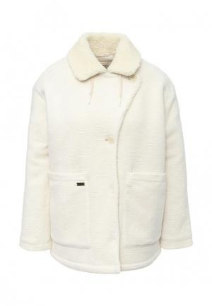 Пальто Roxy. Цвет: белый