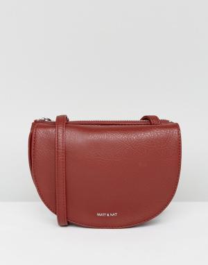 Matt & nat Красная сумка. Цвет: красный