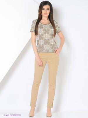 Джемпер Milana Style. Цвет: бежевый