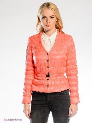 Куртка Gaudi. Цвет: коралловый