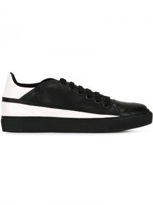 Кроссовки на шнуровке Rombaut. Цвет: чёрный