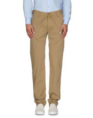 Повседневные брюки JAPAN RAGS. Цвет: песочный