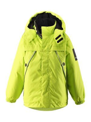 Куртка Lassie by Reima. Цвет: желтый