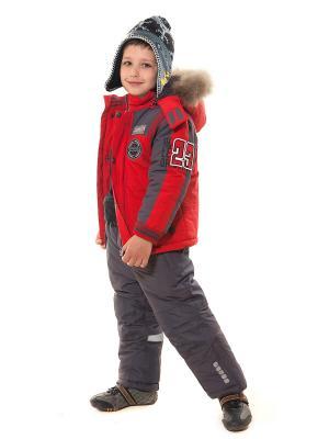 Куртка VELFI. Цвет: красный