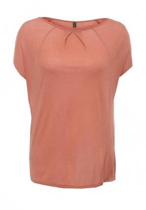 Блуза United Colors of Benetton. Цвет: коричневый
