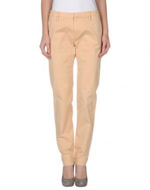 Повседневные брюки SACK'S. Цвет: абрикосовый