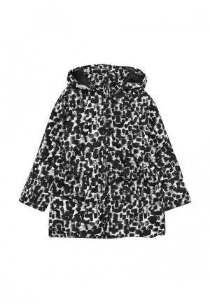 Куртка утепленная Name It. Цвет: черно-белый