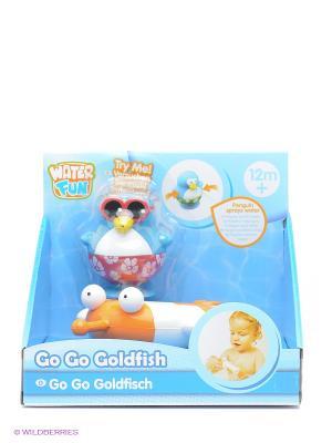 Игрушка для ванны Рыбка Toy Target. Цвет: голубой