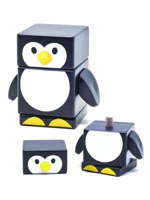 Пирамидка Пингвин БОМИК. Цвет: черный