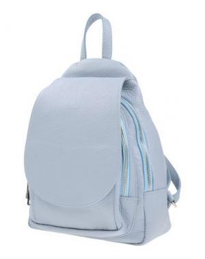 Рюкзаки и сумки на пояс LAURA DI MAGGIO. Цвет: небесно-голубой