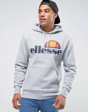 Ellesse Худи с классическим логотипом. Цвет: серый