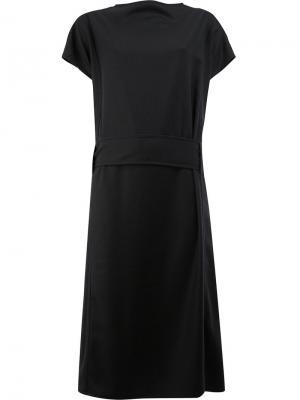 Платье с поясом Toogood. Цвет: чёрный