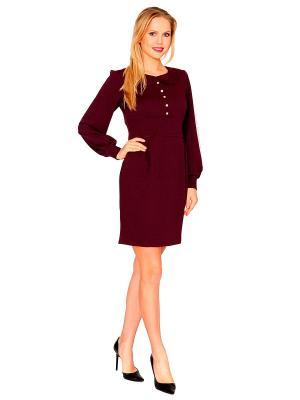 Платье MARI VERA. Цвет: сливовый