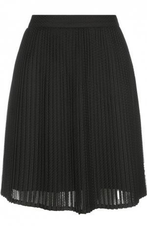 Плиссированная юбка мини Kenzo. Цвет: черный