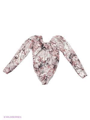 Гимнастический купальник Танцевальный Мир. Цвет: розовый