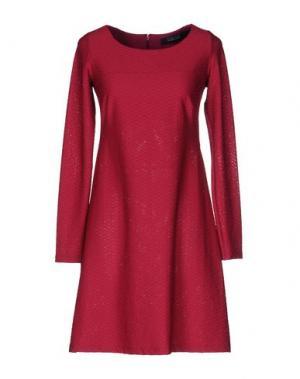 Короткое платье FISICO-CRISTINA FERRARI. Цвет: пурпурный