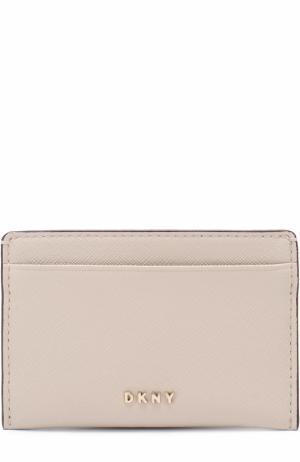 Футляр для кредитных карт DKNY. Цвет: серый