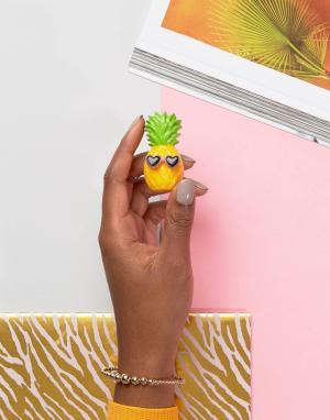 Beauty Extras Бальзам для губ с ароматом ананаса Vibe Squad. Цвет: очистить
