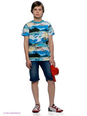 Бермуды Molo. Цвет: синий