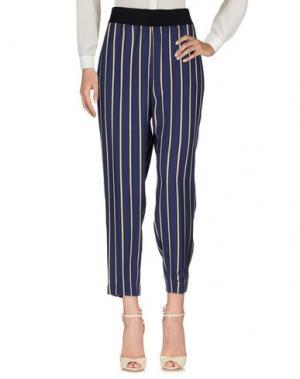 Повседневные брюки PESERICO SIGN. Цвет: синий