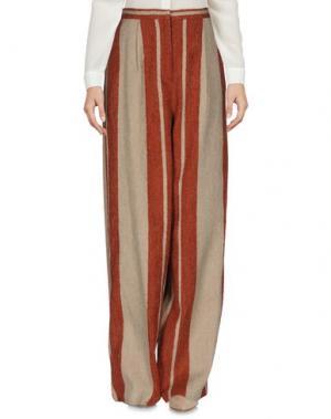 Повседневные брюки MULLER of YOSHIO KUBO. Цвет: бежевый