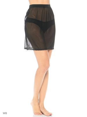 Нижняя юбка El Fa Mei. Цвет: черный