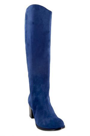 Сапоги Costume National. Цвет: синий