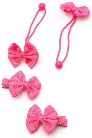 Набор NICE GIRL. Цвет: розовый