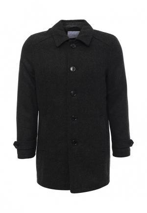Пальто Selected Homme. Цвет: серый