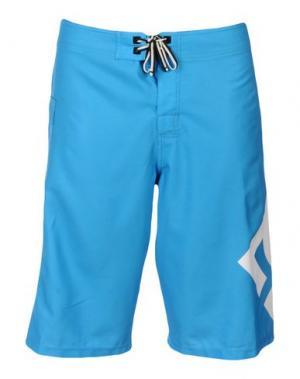 Пляжные брюки и шорты DC SHOECOUSA. Цвет: лазурный