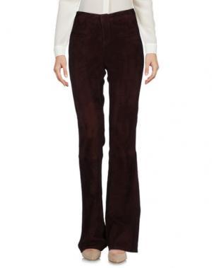 Повседневные брюки ENES. Цвет: какао