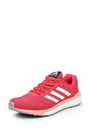 Кроссовки adidas Performance. Цвет: коралловый