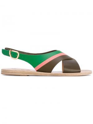 Maria sandals Ancient Greek. Цвет: коричневый