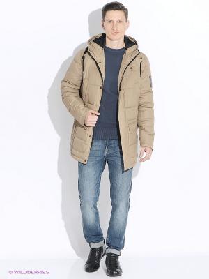 Куртка TOM FARR. Цвет: бежевый