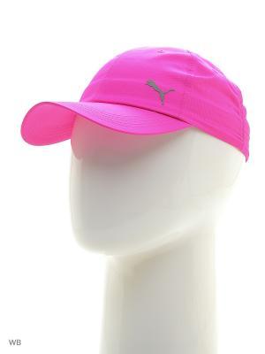 Бейсболка Unisex Poly Cot Cap Puma. Цвет: темно-фиолетовый