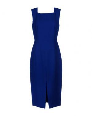 Платье длиной 3/4 JASON WU. Цвет: ярко-синий