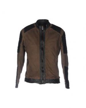 Куртка MAZE. Цвет: темно-коричневый