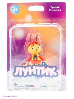 Бравый Пчеленок  серия Лунтик и его друзья ProstoToys. Цвет: красный, желтый, коричневый