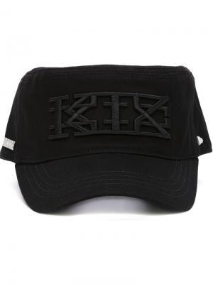 Кепка с вышивкой логотипа  x New Era KTZ. Цвет: чёрный