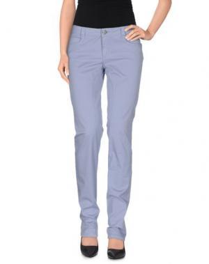Повседневные брюки SIVIGLIA. Цвет: сиреневый