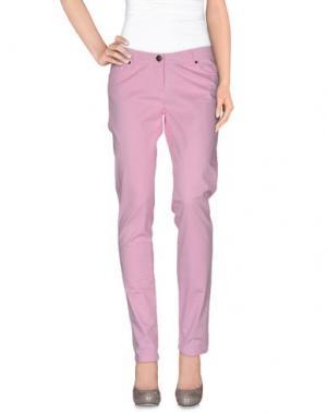 Повседневные брюки REFRIGUE. Цвет: розовый