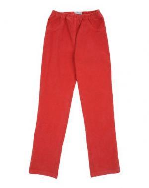 Повседневные брюки GUSELLA. Цвет: красный