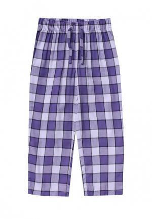 Брюки домашние Gap. Цвет: фиолетовый